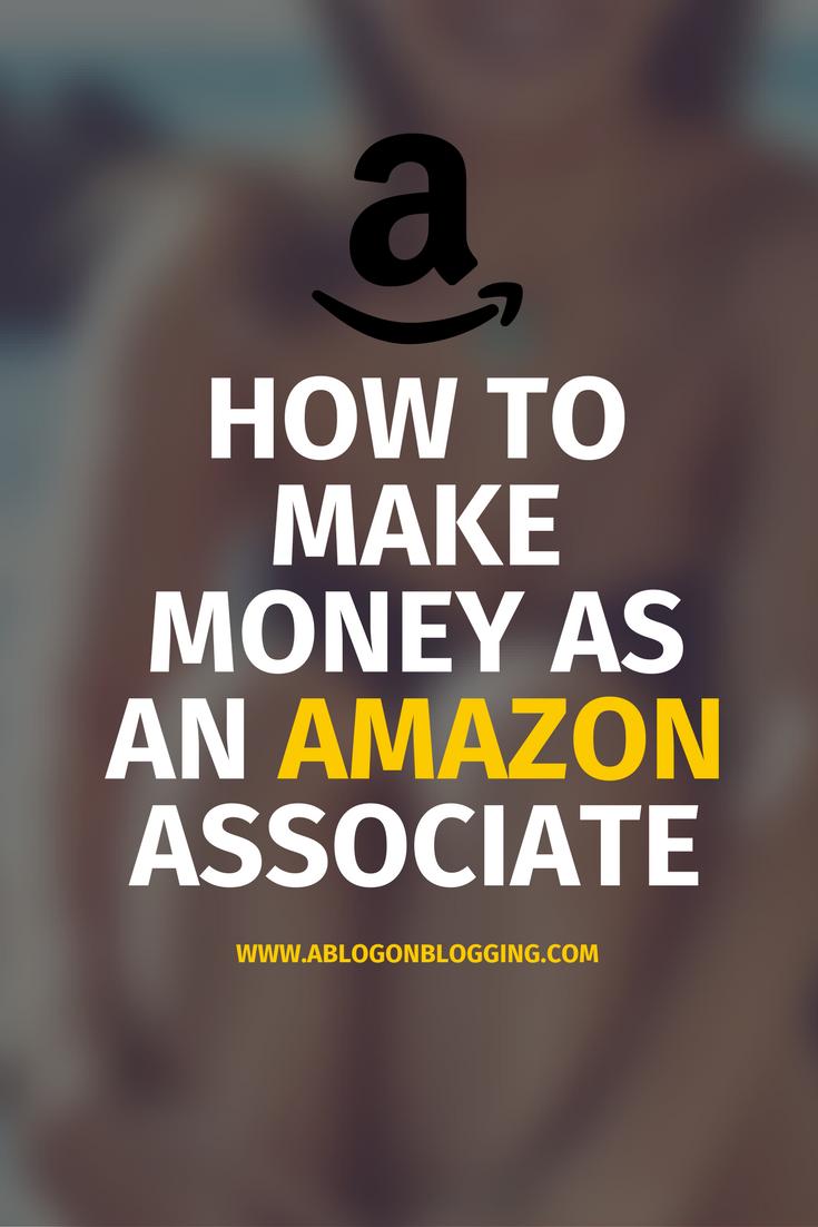 Money As An Amazon Associate