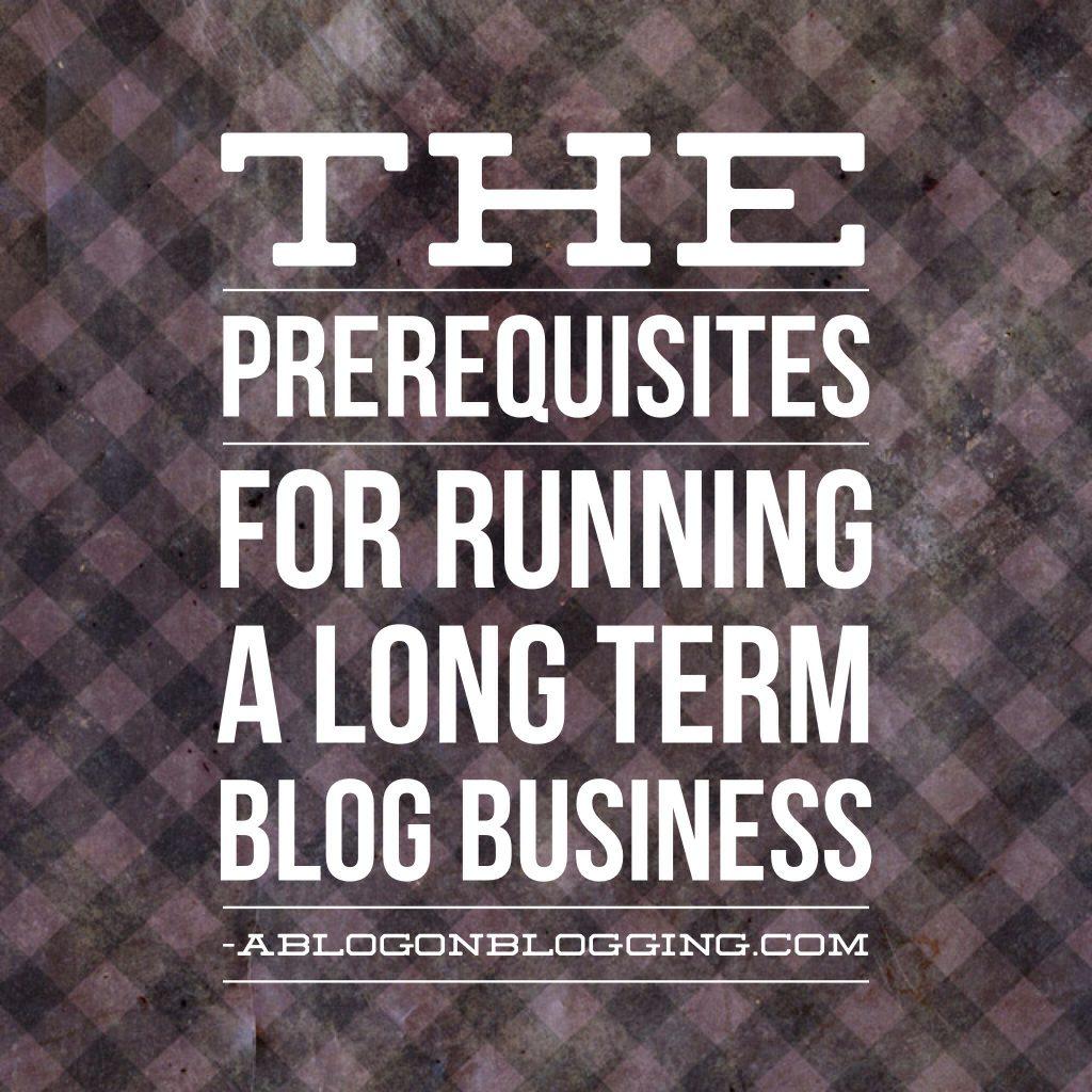 long term blog business