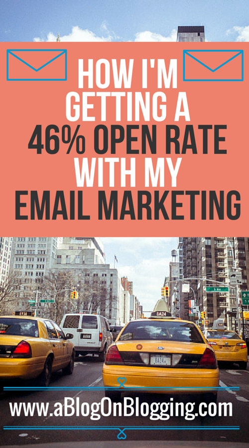 How I'm Getting A 46% Open Rate With My Email Marketing