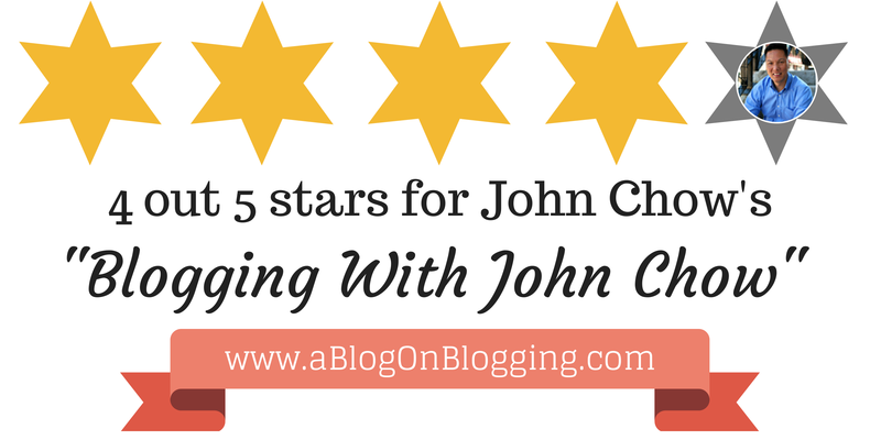 4 out 5 stars for John Chow