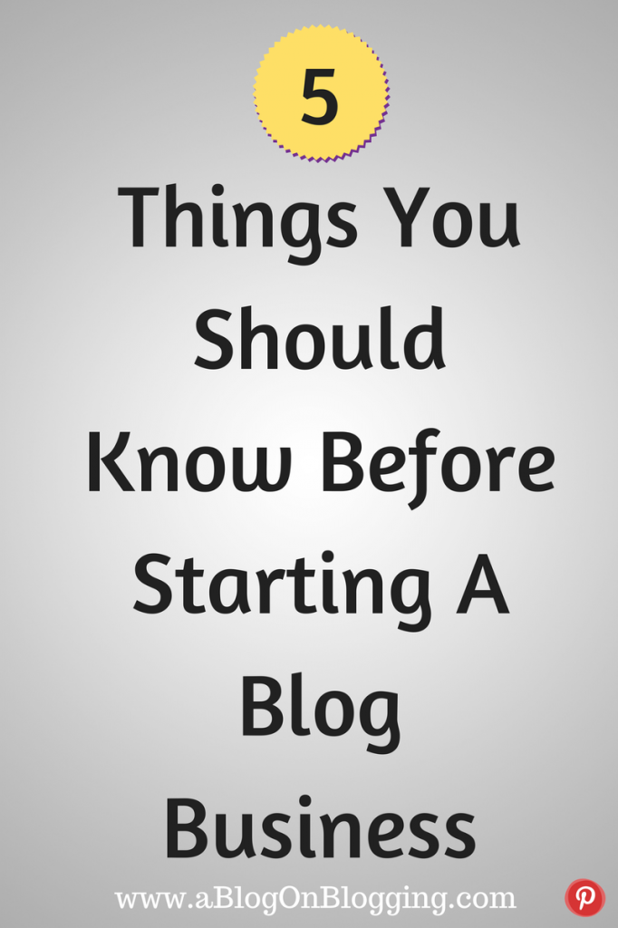 5 Things You Should Know Before Starting
