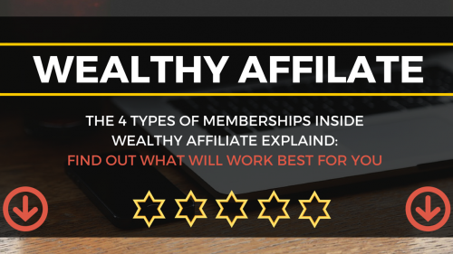The 4 Types Of Membership Inside Wealthy Affiliate