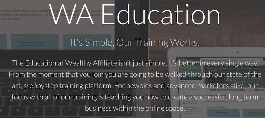 wealthy affiliate training