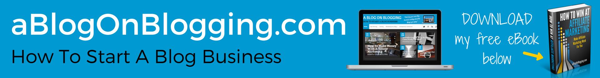 A Blog On Blogging