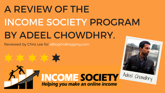 Income Society Review 1