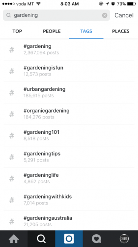 instagram hashtags example