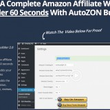 AutoZon Builder 2.0 Review: How To Build Amazon Affiliate Sites With Ease