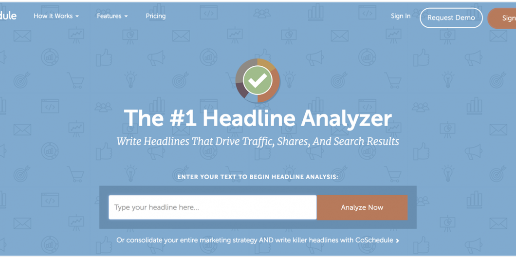 Coschdule Headline Analyzer