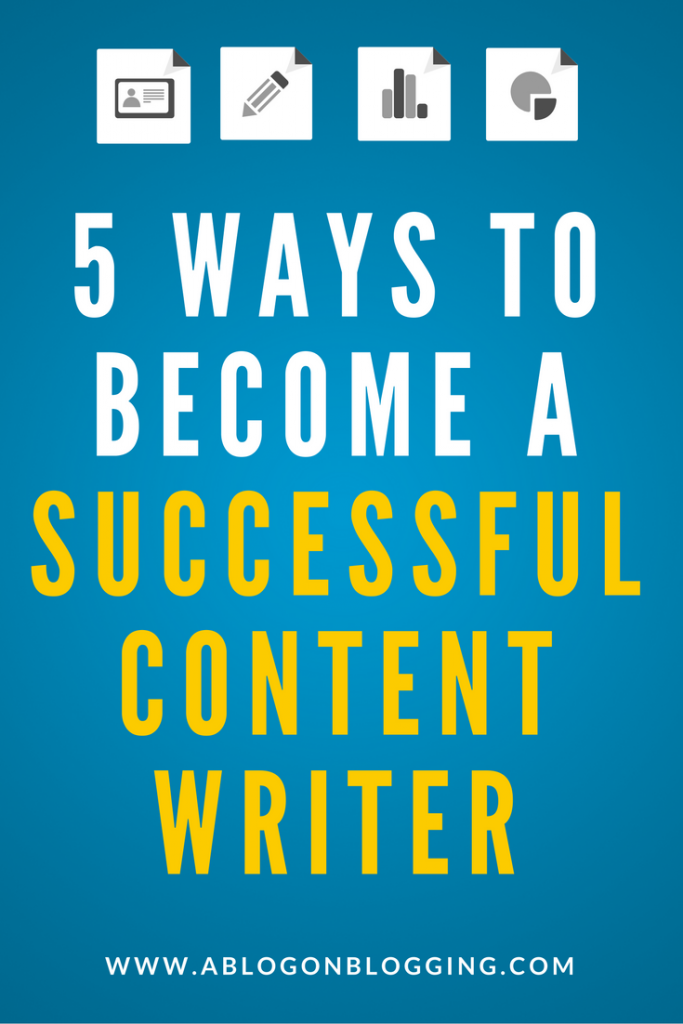5 Ways to Become a Successful Content Writer