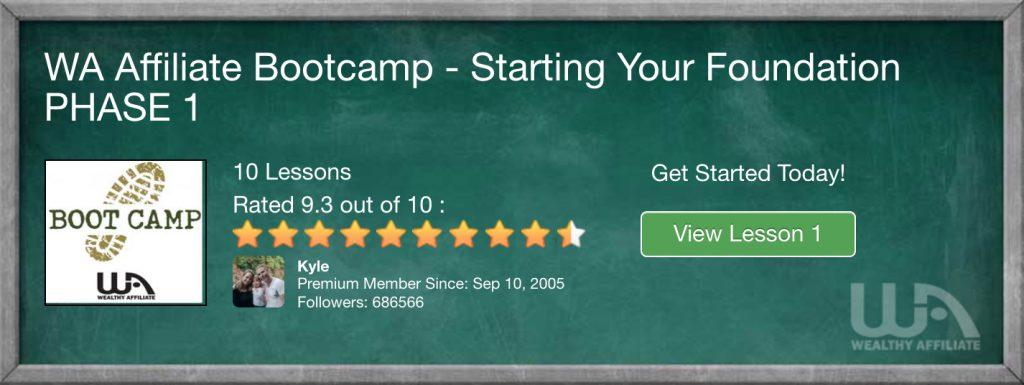 WA Bootcamp