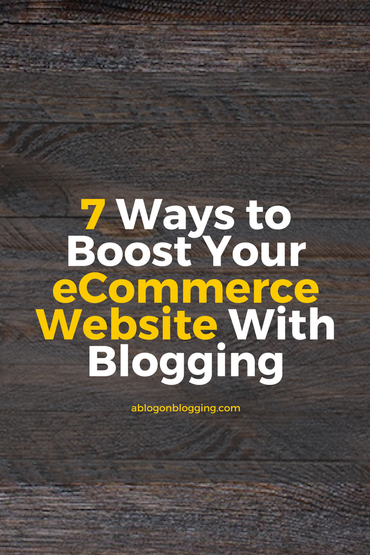 ways to boost ecommerce