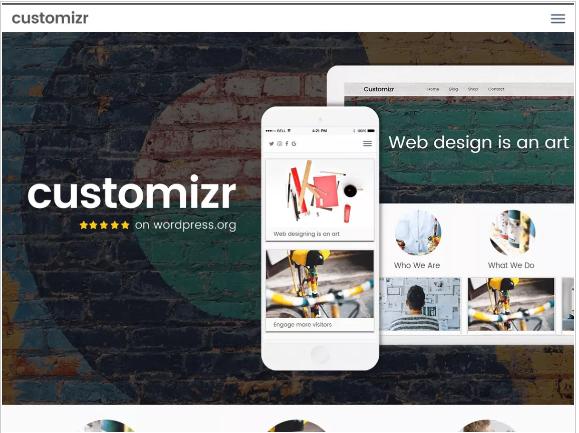 Customizr theme wordpress