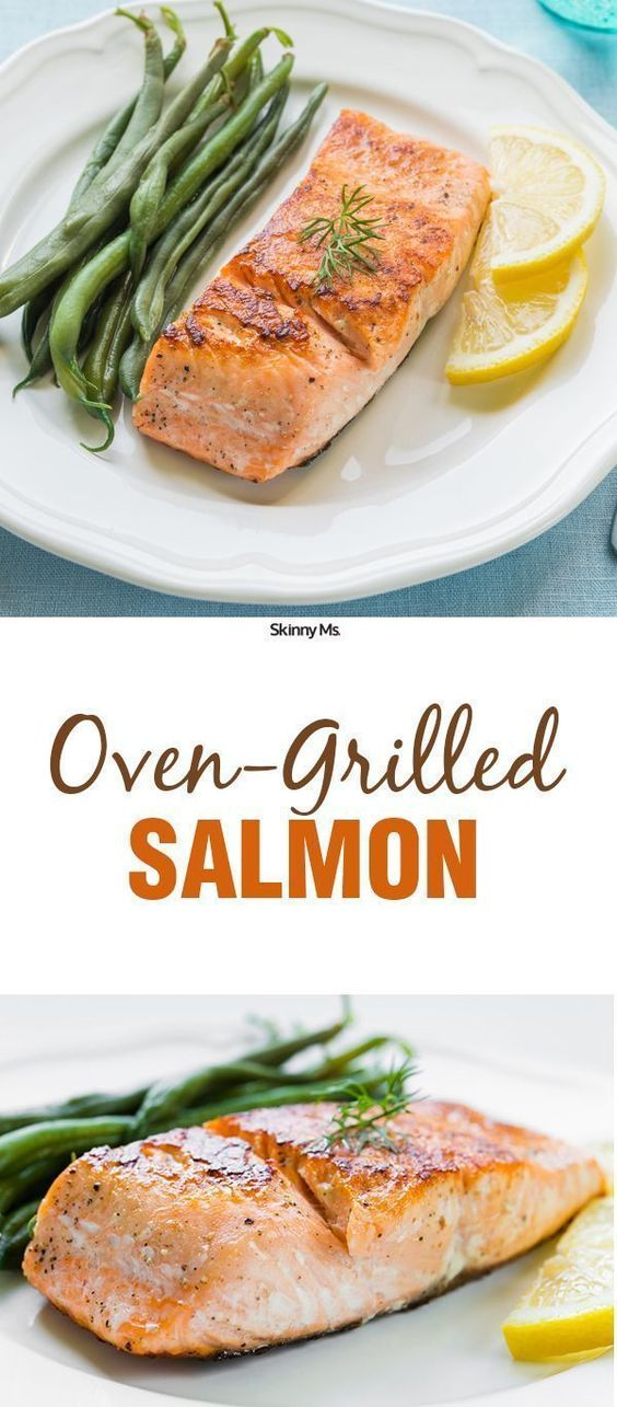 The Oven-Grilled Salmon