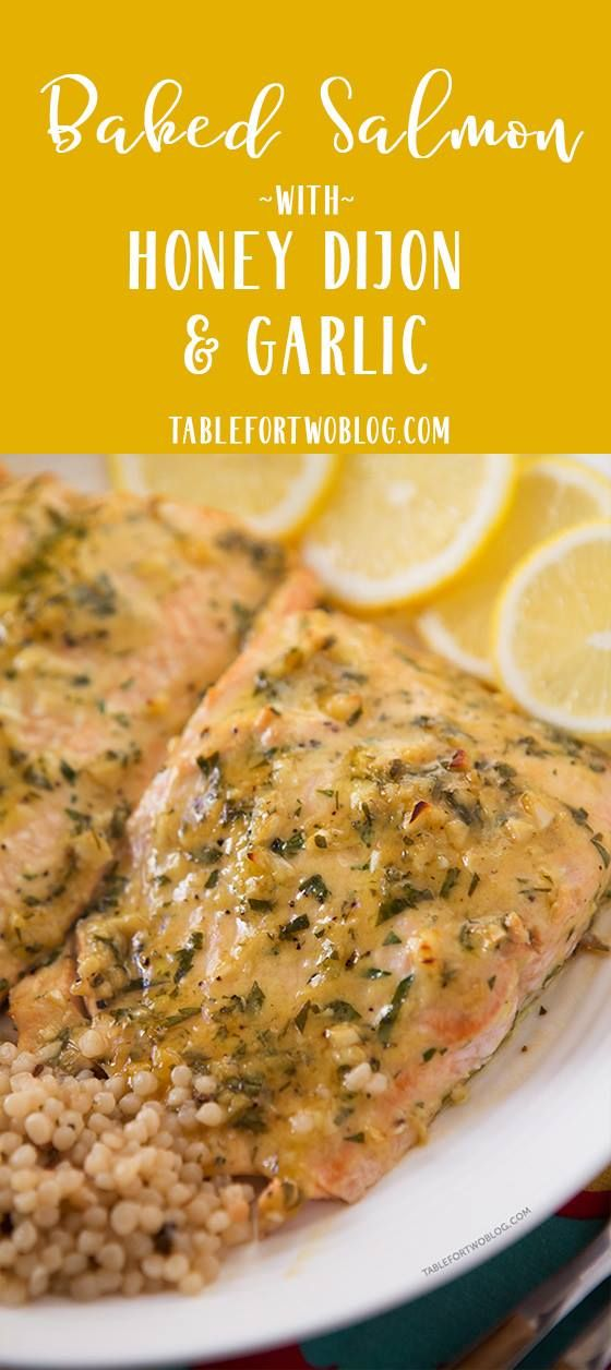 The Honey Dijon & Lemon Salmon