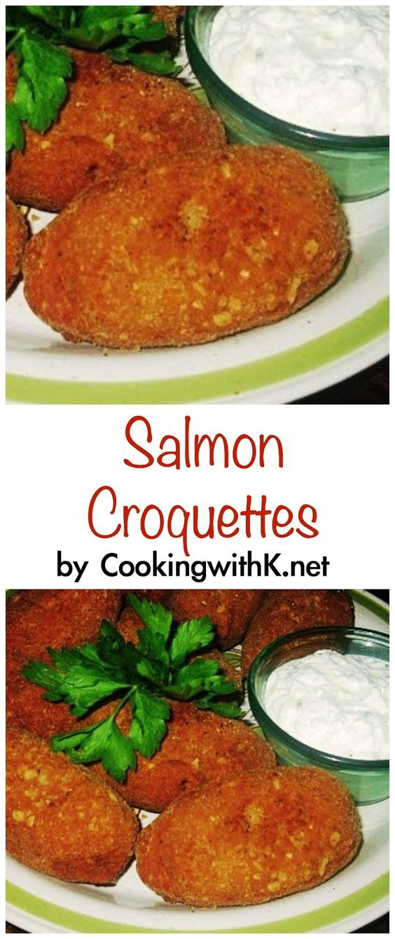 The Croquettes Grandma's Recipe Salmon