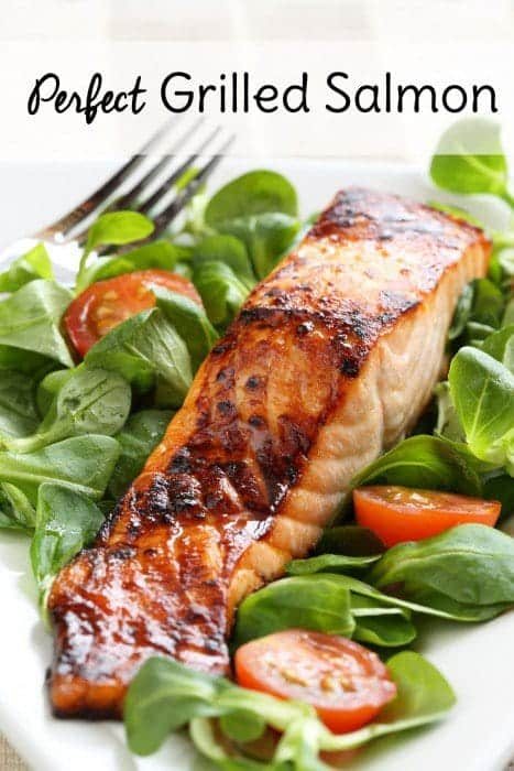 The Perfect Grilled Salmon
