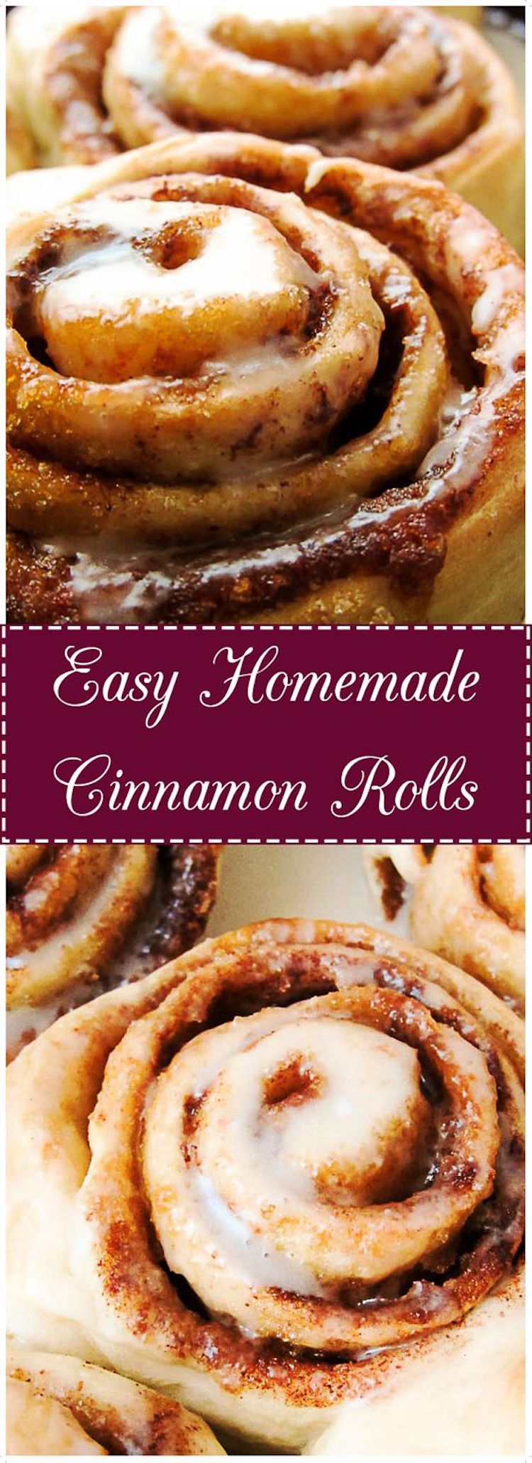 Easy Home Made Cinnamon Roll Recipe: Who doesn't like a warm, gooey cinnamon roll fresh from the oven? You do? Well, this is just the one for you. Continue reading this recipe on BerlysKitchen.com.