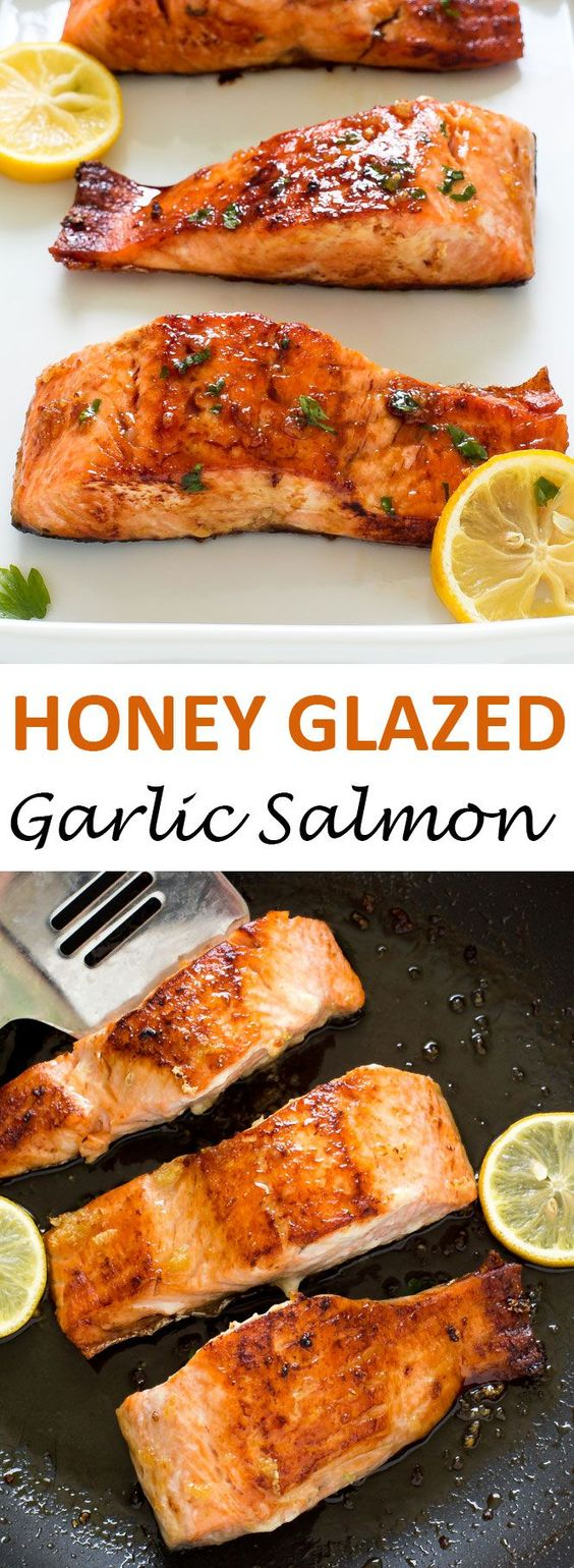 The 20-Minute Honey Garlic Salmon