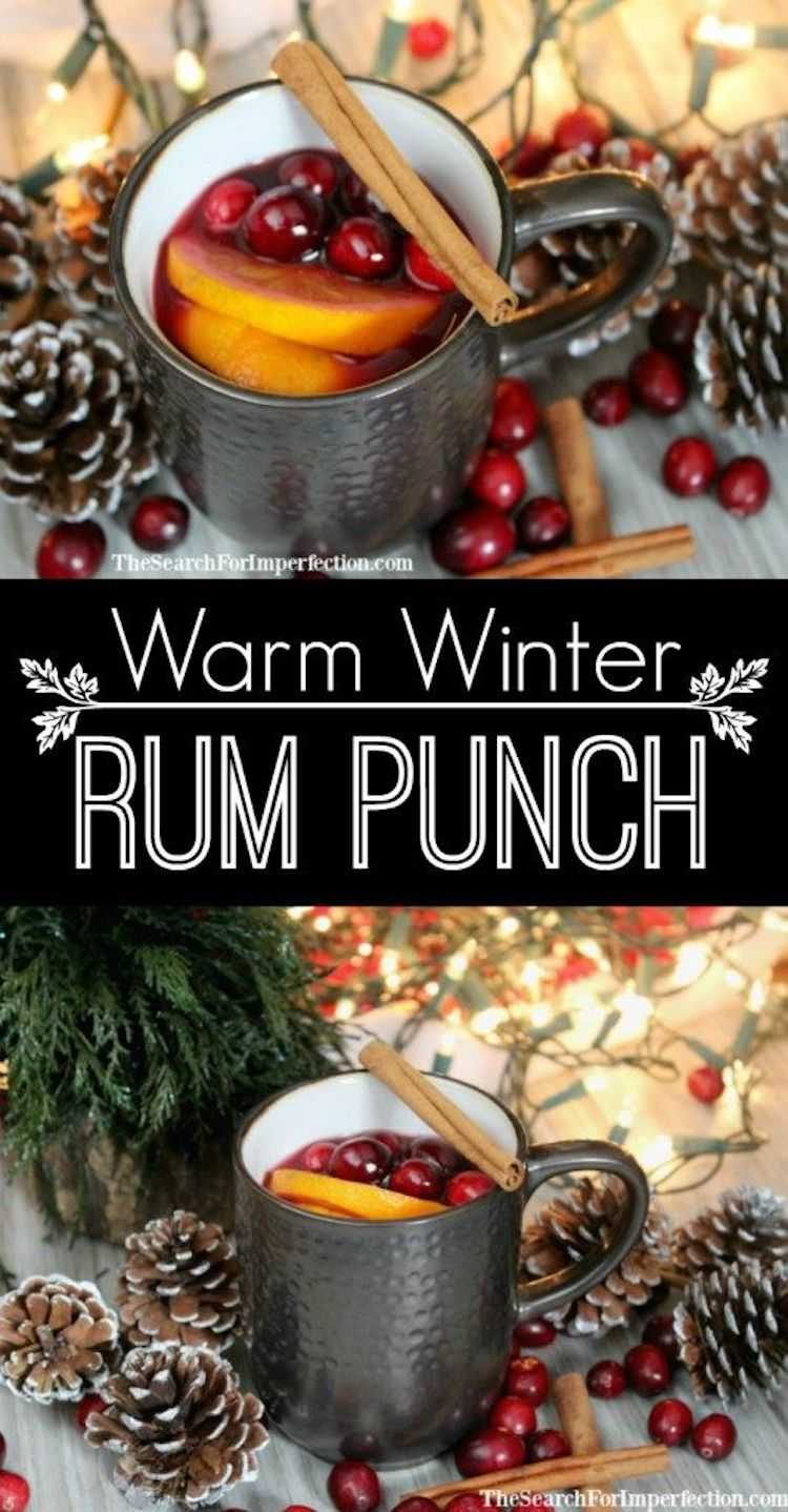 The Warm Winter Rum Punch