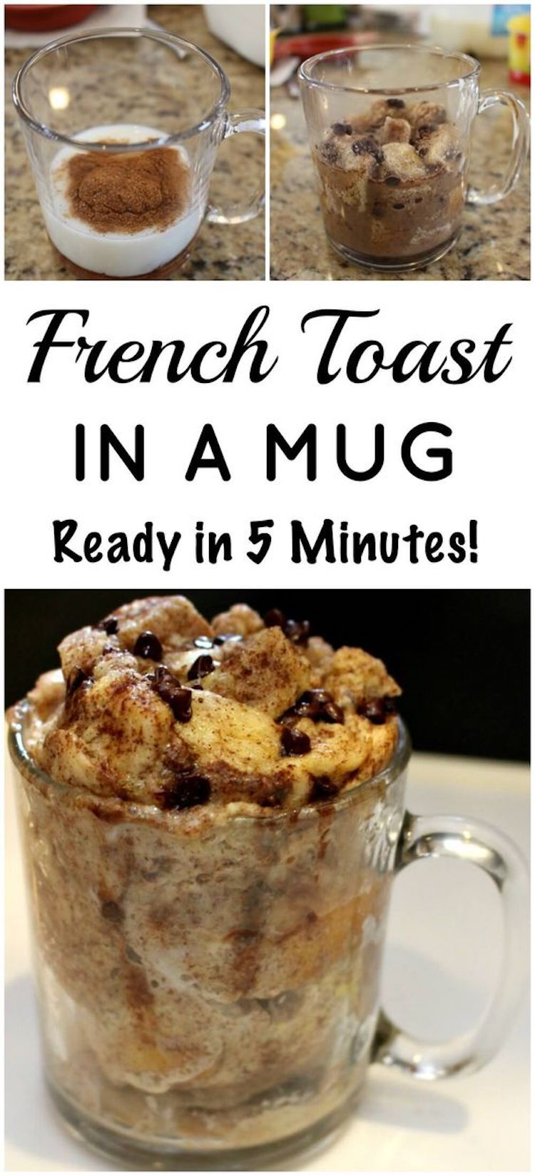 French Toast Mug Recipe: Ready In 5 Minutes