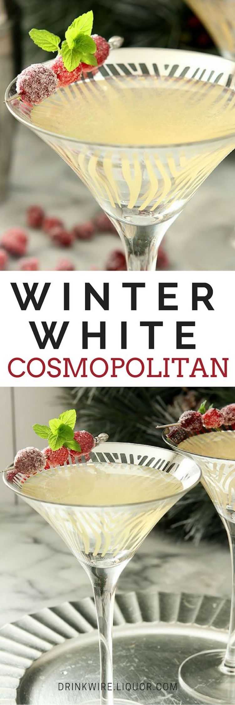The Winter White Cosmopolitan