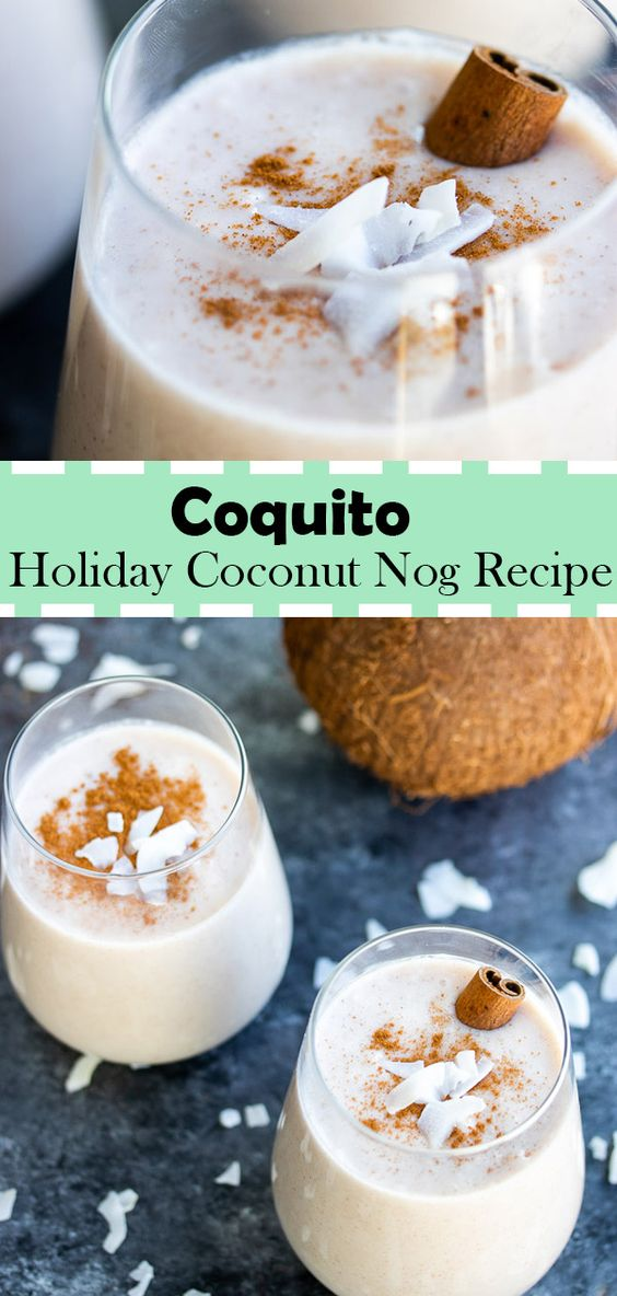 Puerto Rican Holiday Coconut Nog Recipe