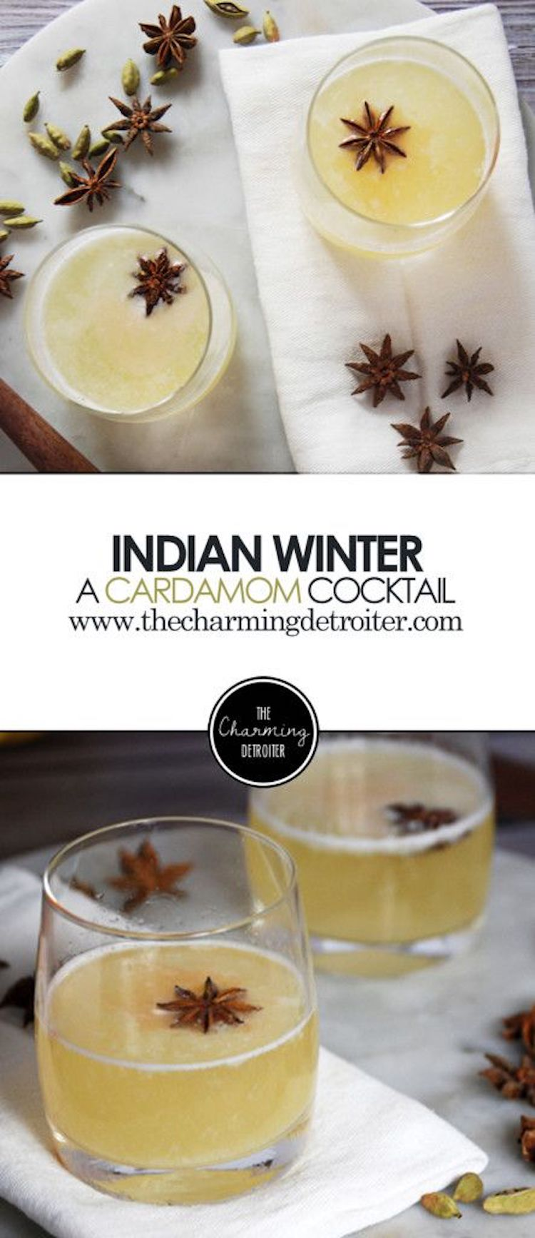 Indian Winter: A Cardamon Cocktail