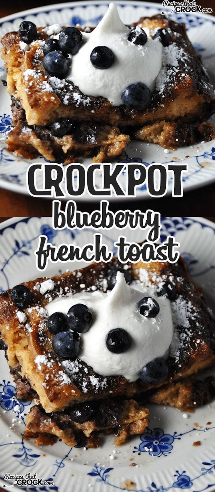 Crockpot Blueberry French Toast