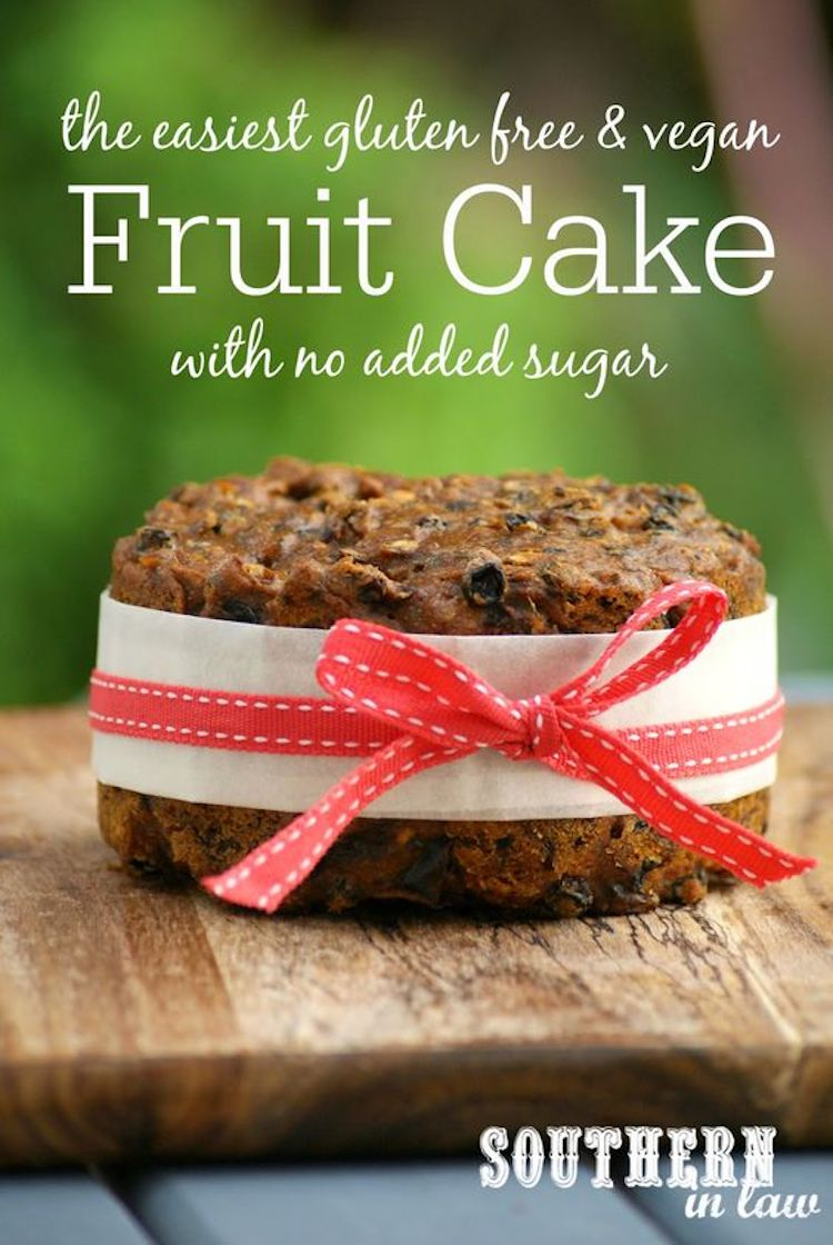Christmas Fruit Cake (With No Added Sugars)