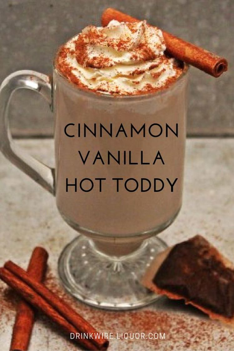 Cinnamon & Vanilla Hot Toddy