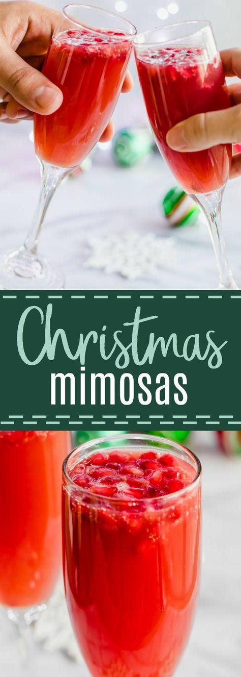 Special Christmas Mimosas Recipe