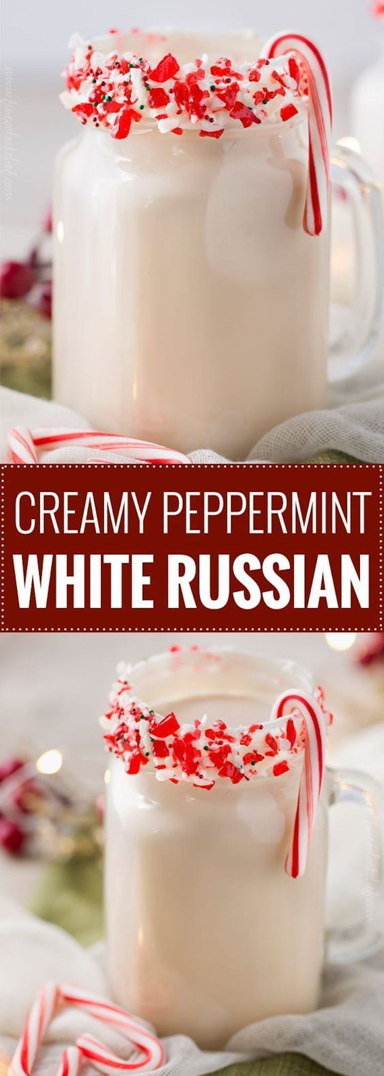 Creamy Peppermint White Russian