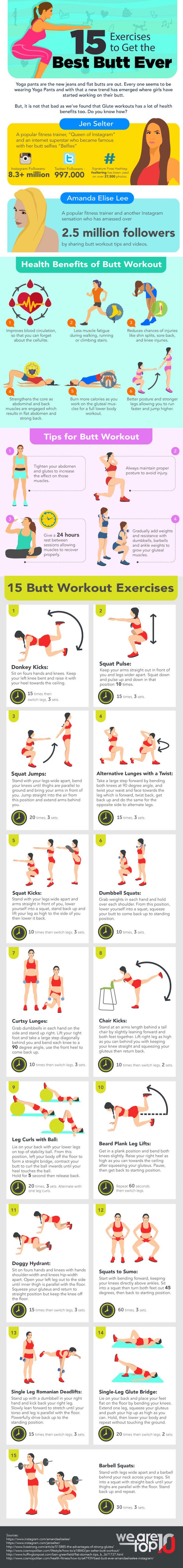 15 butt exercises