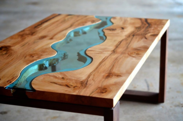10 Amazing Wood River Tables (With How-To Video)