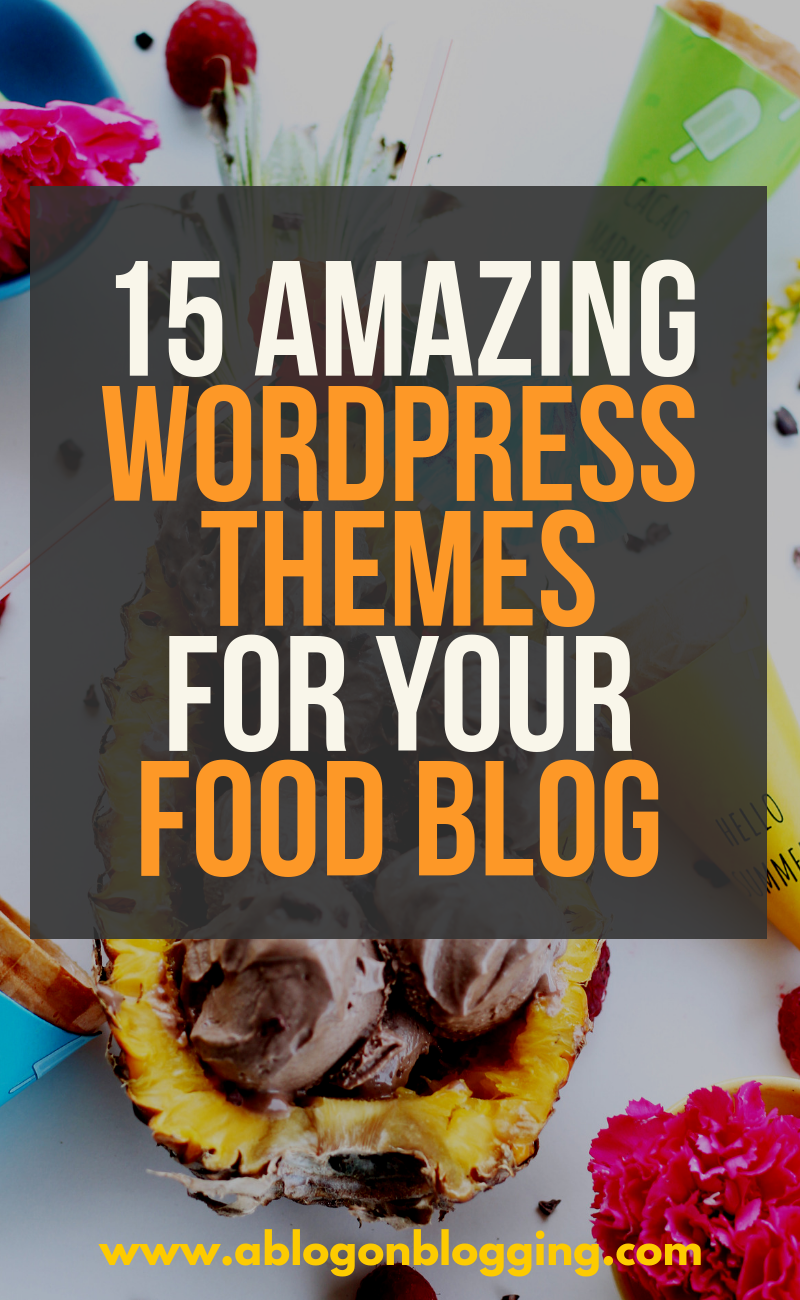 themes for your food blog