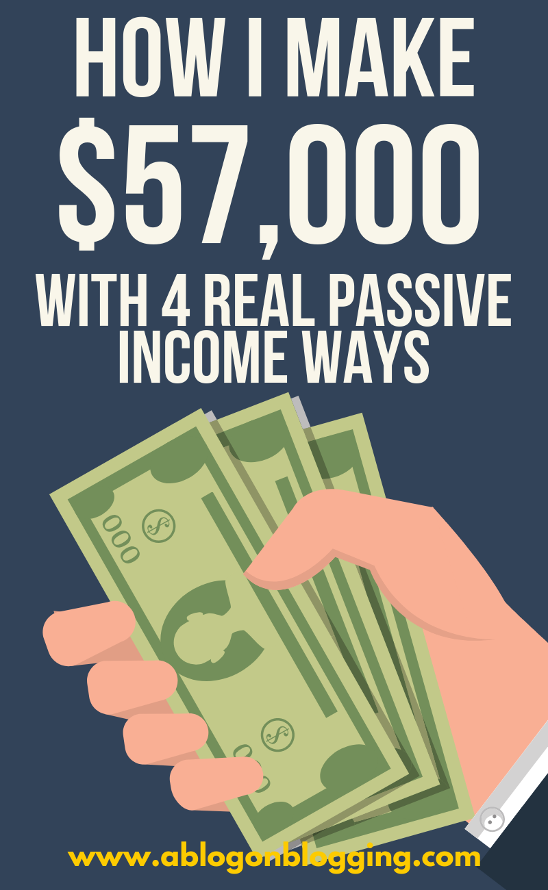 How I Make $57,000 A Month (4 Real Passive Income Ways)