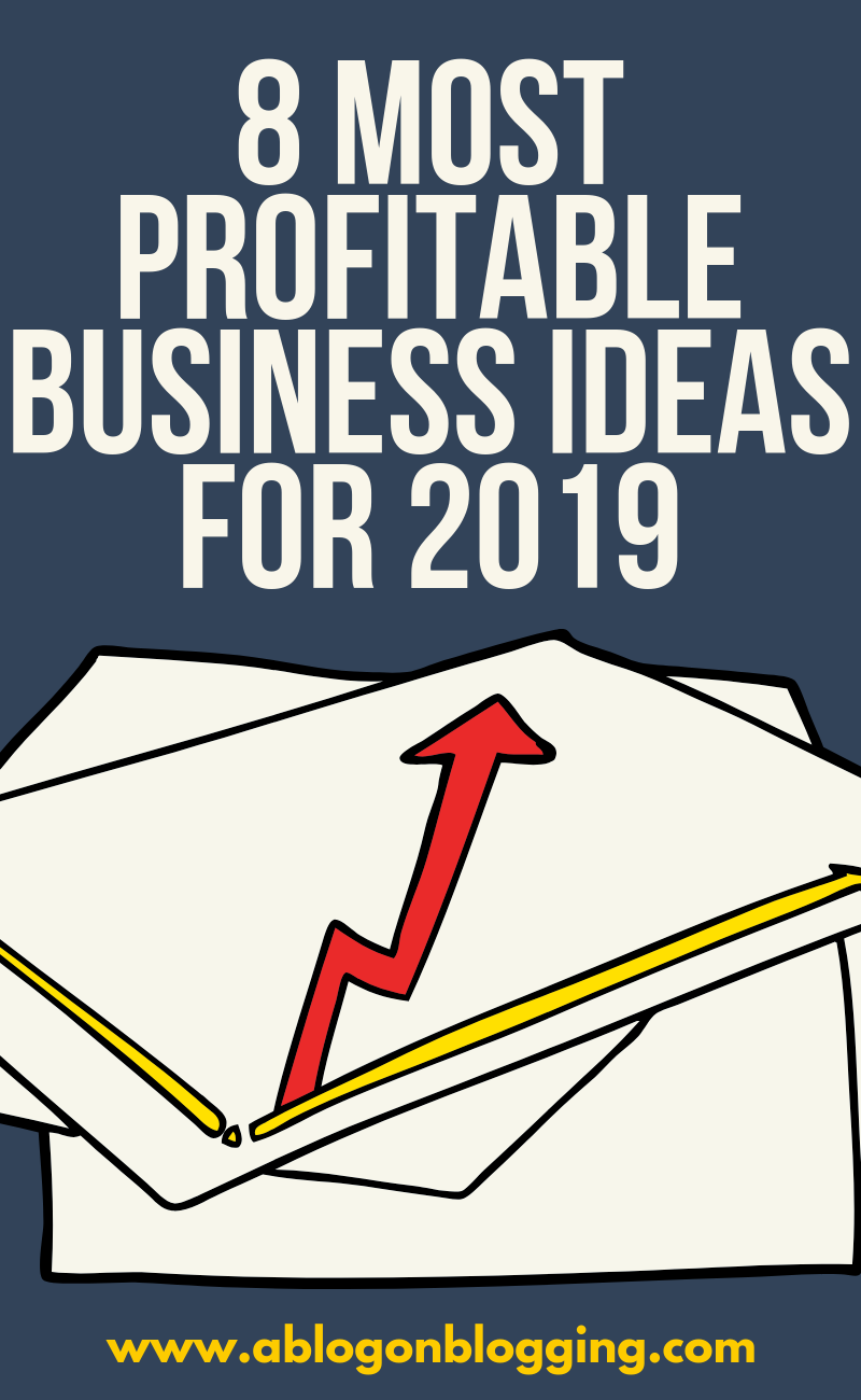 8 Most Profitable Business Ideas For 2019