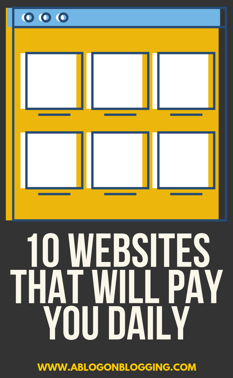 10 Websites That Will Pay You DAILY (Within 24 Hours!)