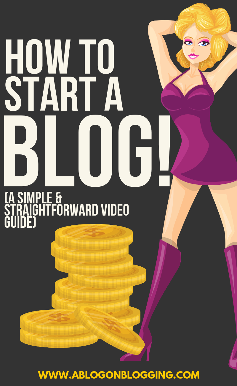 How To Start a Blog (A Simple & Straightforward Video Guide)