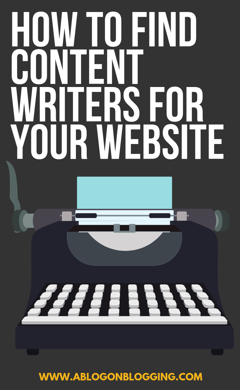 How To Find Content Writers For Your Website
