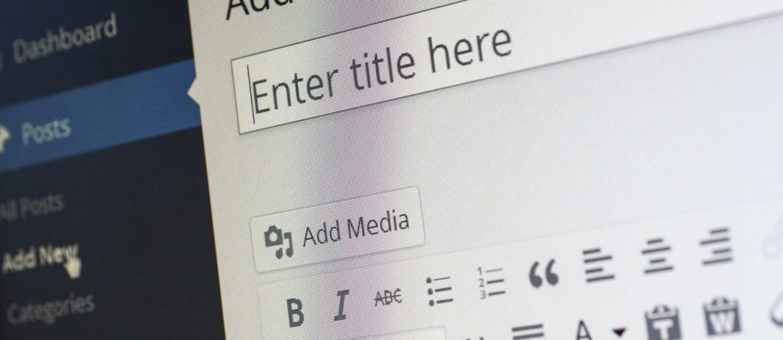 wordpress blogging for all