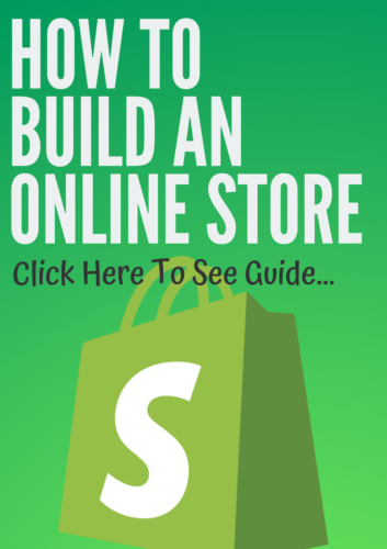 how to build an online store with shopify